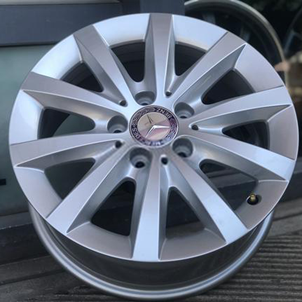 Mercedes Benz  Silver Polished  16X6,5